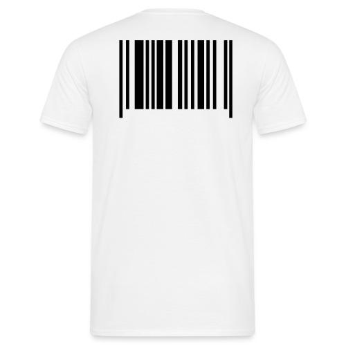 T-shirt code barre dos - T-shirt Homme