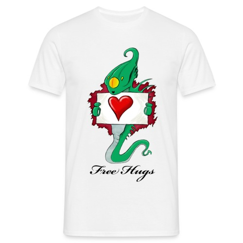 Free Hugs (Alien) - T-shirt Homme