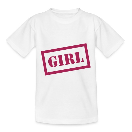 Girl Kids Tee - Teenage T-Shirt