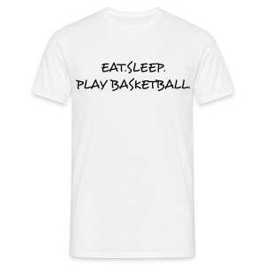 T-Shirt - Eat.Sleep.Play Basketball. - Maglietta da uomo