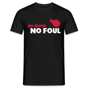 T-Shirt - No blood.No foul. - Playground Style - Maglietta da uomo