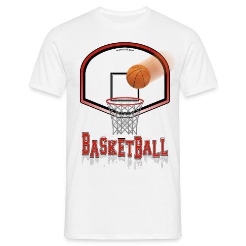 T-Shirt - BASKETBALL - Classic Style - Maglietta da uomo