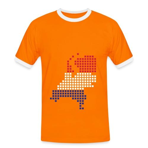 Holland square 1 - Men's Ringer Shirt