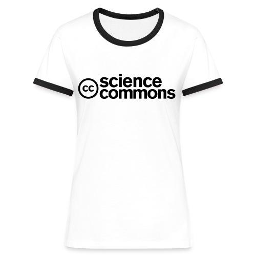 (TC) Science Commons - Maglietta Contrast da donna
