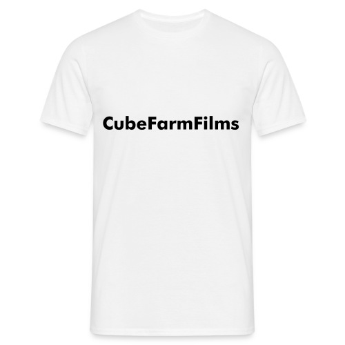 CubeFarmFilms Plain White - Men's T-Shirt