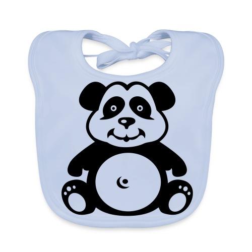 Panda ruokalappu - Vauvan ruokalappu