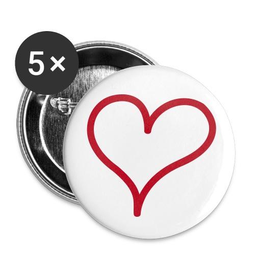 BrokenHeartsDesigns - Buttons small 25 mm
