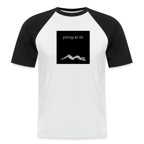 potograf.de T-Shirt - Männer Baseball-T-Shirt