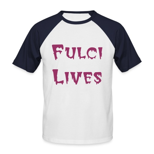 Fulci Lives - Men's Baseball T-Shirt