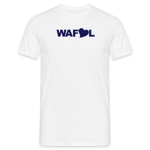 WAFLL (YOUR OWN TEXT & NUMBER) - Men's T-Shirt