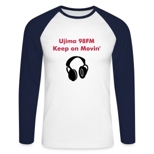 Keep on Movin' Men's Long sleeve - Men's Long Sleeve Baseball T-Shirt