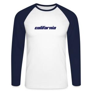 Langarm-Shirt california sky navy - Männer Baseballshirt langarm