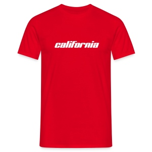 T-Shirt california rot - Männer T-Shirt