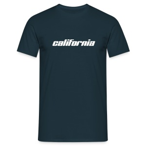 T-Shirt california navy - Männer T-Shirt