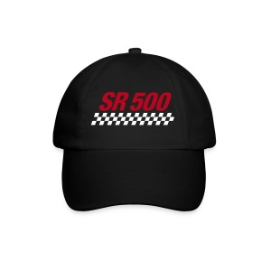 SR 500 Baseball Cap schwarz - Baseballkappe