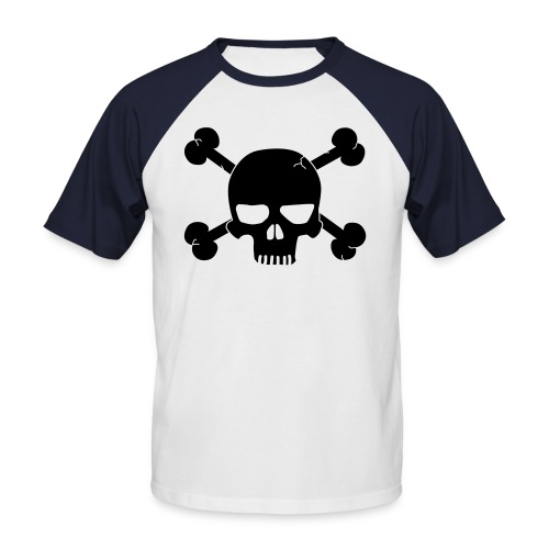 calaverixca - Camiseta béisbol manga corta hombre