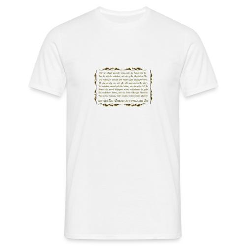 Att fylla 50 år - T-shirt herr