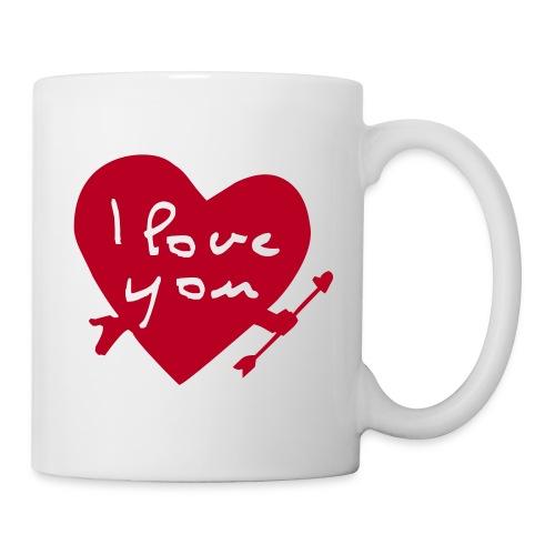 i love you mug - Mug