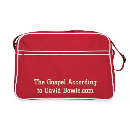Retro bag - The Gospel According to David Bowie - Retro Bag