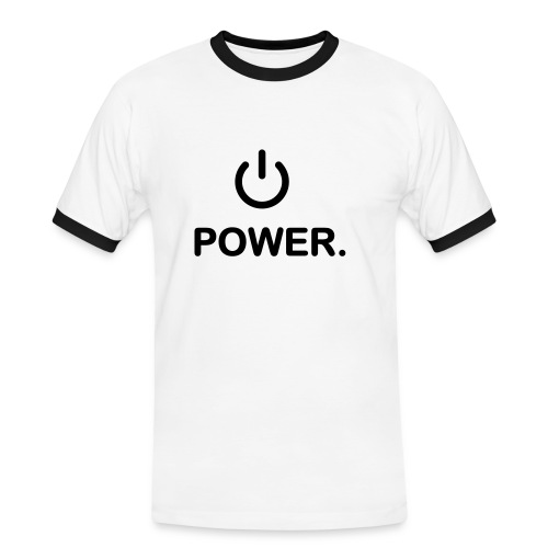 Power. - Men's Ringer Shirt