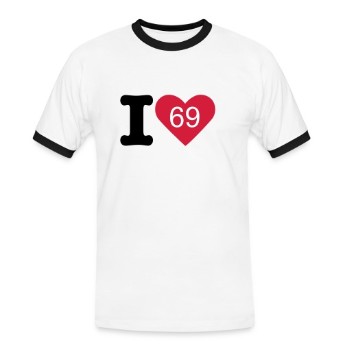 I Love 69 - Men's Ringer Shirt