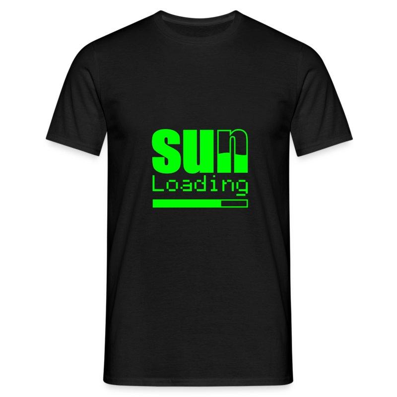 Sun loading - Männer T-Shirt