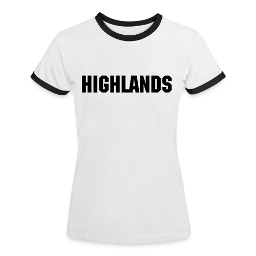 Highlands Women's Tee - Women's Ringer T-Shirt