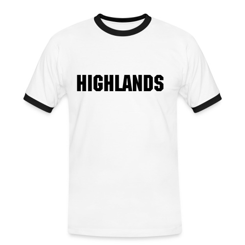 Highlands Men's Tee (White) - Men's Ringer Shirt