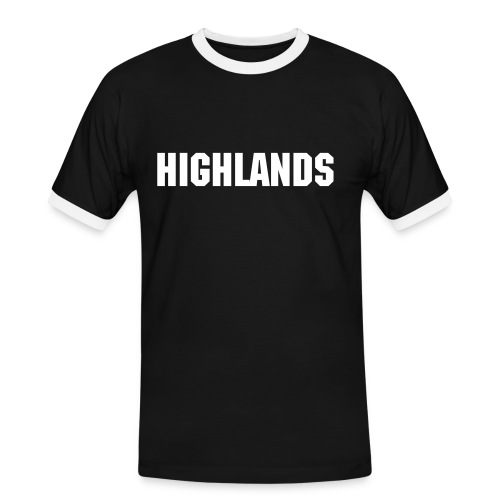 Highlands Men's Tee (Black) - Men's Ringer Shirt