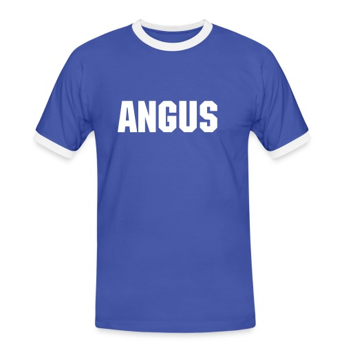 Angus Men's Tee (Blue) - Men's Ringer Shirt