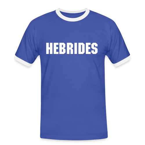 Hebrides Men's Tee (Blue) - Men's Ringer Shirt
