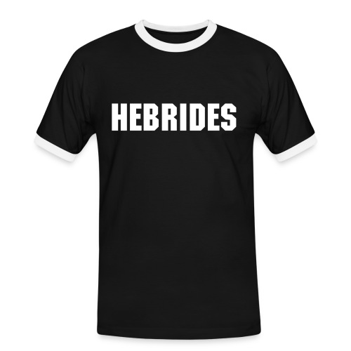 Hebrides Men's Tee (Black) - Men's Ringer Shirt