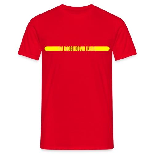shirt dbdf logo hinten - Männer T-Shirt