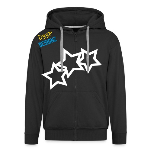 stars0 - Men's Premium Hooded Jacket