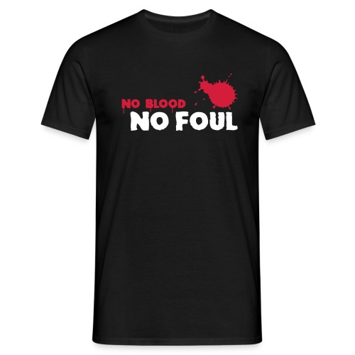 No Blood Paintball S.P.S Black - Men's T-Shirt