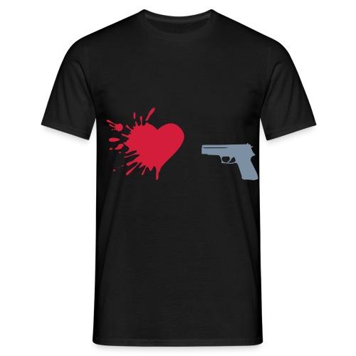 Tragedy - Herre-T-shirt