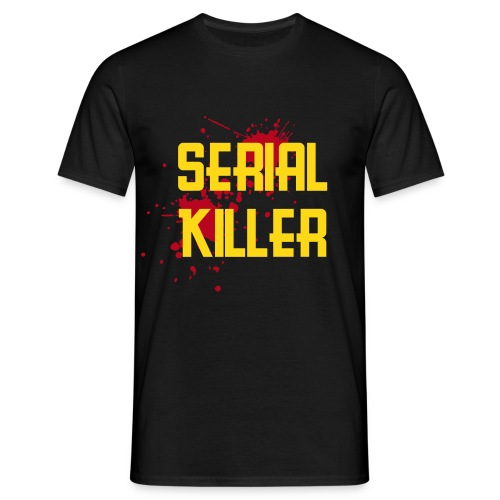 Serial Killer Slim - Men's T-Shirt