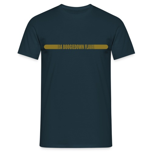 shirt dbdf logo hinten gold - Männer T-Shirt