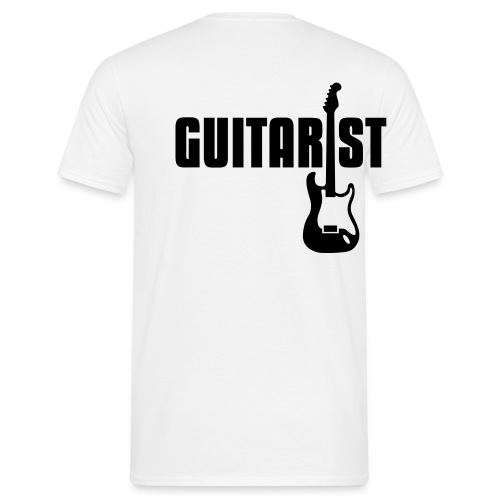 Guitarist - T-shirt herr