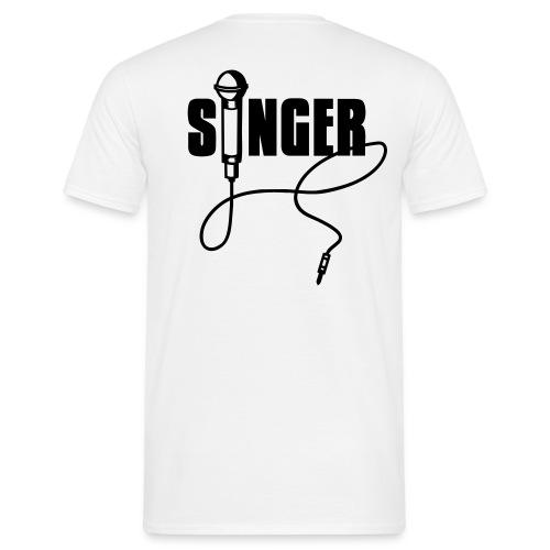 Singer - T-shirt herr
