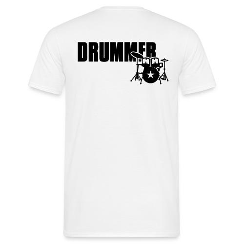 Drummer - T-shirt herr