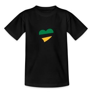 Children's Centred BG&G Heart T-Shirt - Teenage T-shirt