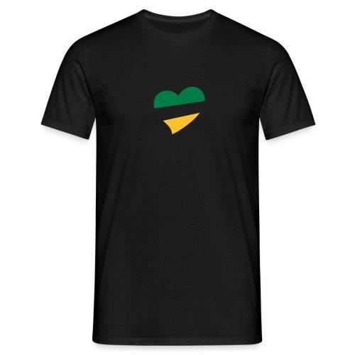 Men's Centred BG&G Heart T-Shirt - Men's T-Shirt