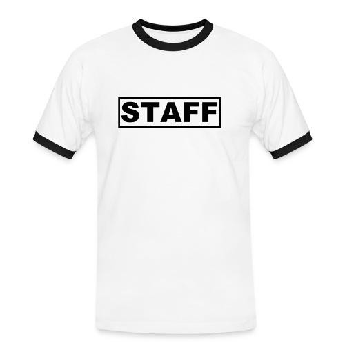 Staff - T-shirt contrasté Homme