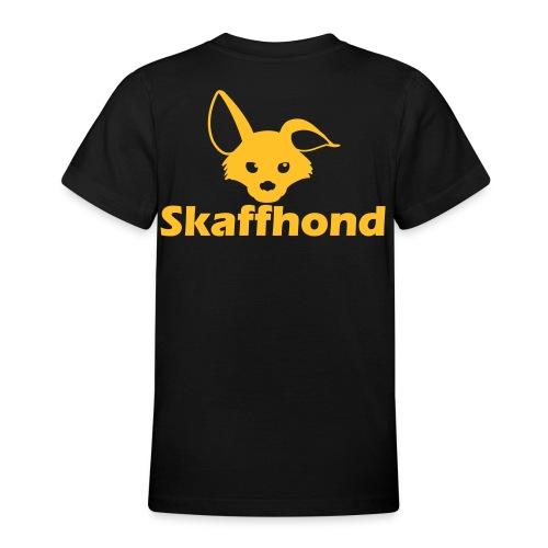 Skaffhond - T-shirt tonåring