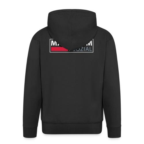 Mannheim Asozial - Männer Premium Kapuzenjacke