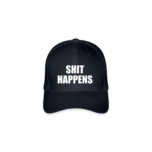 SHIT HAPPENS - Flexfit Baseball Cap