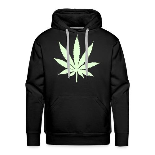 Cannabis hood - Premiumluvtröja herr