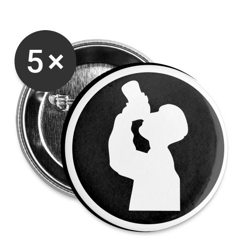PB Buttons - Liten pin 25 mm (5-er pakke)