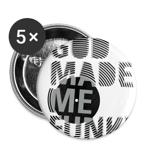 funky - rintamerkit 5kpl - Rintamerkit isot 56 mm (5kpl pakkauksessa)